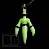 J.O.P. - Slyme Claw Glass Pendant