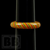Marni Schnapper x Harold Cooney - Rasta Colored Glass Ring Collab (Size 4)
