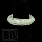 Marni Schnapper x Harold Cooney - Multi Wave White Blizzard Colored Glass Ring Collab (Size 6)