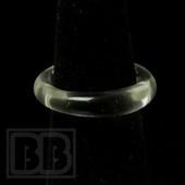 Marni Schnapper - Transparent Lucy UV Colored Glass Ring (Size 6)