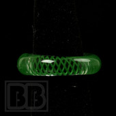 Marni Schnapper x Harold Cooney - Transparent Green Colored Glass Ring Collab (Size 8.5)