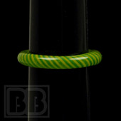 Marni Schnapper x Harold Cooney - Green & Yellow Colored Glass Ring Collab (Size 8.5)