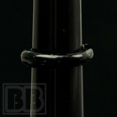 Cajun Glass Designs - Crushed Opal Glass Ring (Size 8)