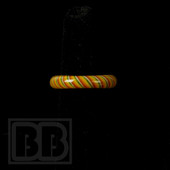 Marni Schnapper x Harold Cooney - Rasta Colored Glass Ring Collab (Size 7)