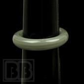 Marni Schnapper - Grey Colored Glass Ring (Size 7)