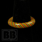 Marni Schnapper x Harold Cooney - Rasta Colored Glass Ring Collab (Size 6.5)