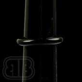 Marni Schnapper - Jet Pink Glass Ring (Size 6)