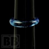Marni Schnapper - Transparent Blue Dream Glass Ring (Size 6)