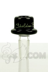 Sheldon Black - 14mm Black Derby Slide with Signature Logo Detail 1
