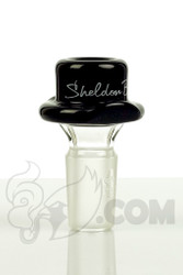 Sheldon Black - 19mm Black Derby Slide with Signature Logo Detail 1