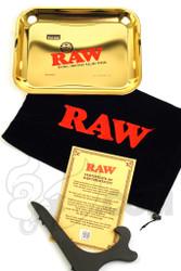 RAW - Gold Leaf Rolling Tray