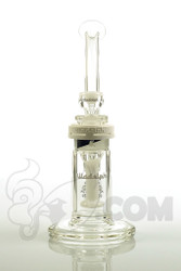 Illadelph Gallery - Showerhead Disc Bubbler with White Label Front
