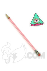 Sherbet Glass - XL Serum Glass Pencil Dabber with Grey Tip