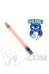 Sherbet Glass - Glass Pencil Dabber CFL Serum with Pink Tip