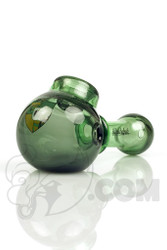 Illadelph - Green and Stardust Spoon Hand Pipe with Camo Label Front