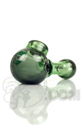 Illadelph - Green and Stardust Spoon Hand Pipe with Digi-Camo Label Front