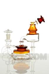 Bear Mountain Studios - Honey Jar Recycler in Amber Side 1