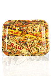 RAW - Product Mix Large Rolling Tray