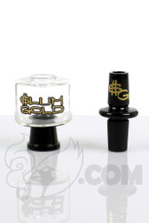 Slum Gold - Dome - 14mm Female  with Transition