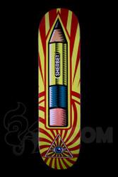 Sherbet - Pencil Logo Skateboard Deck Size - 7.75