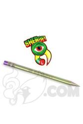 Sherbet Glass - Thin Green Titanium Pencil