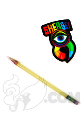 Sherbet Glass - Mini CFL Glass Pencil Dabber with Pink Tip