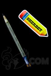Sherbet Glass - Glass Pencil Dabber UV Nova with Sparkle Tip