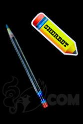 Sherbet Glass - Glass Pencil Dabber UV Nova with Teal Tip
