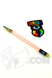 Sherbet Glass - Glass Pencil Dabber CFL Serum with White Eraser
