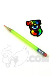 Sherbet Glass - Glass Pencil Dabber Antidote with Red Tip