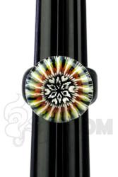 Marni x Cajun x Steve H. - Crushed Opal Ring with Terp Implosion Fisheye (Size 11)