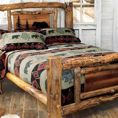 Buy Cabin Fever Black Bear Mountain Full Or Queen Blanket