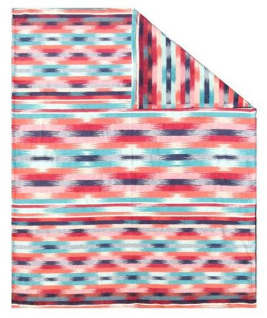 Ibena Aztec 70 Cotton 30 Wool Blanket