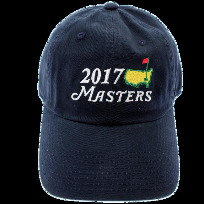 2017 Masters Big Logo Hat - Navy