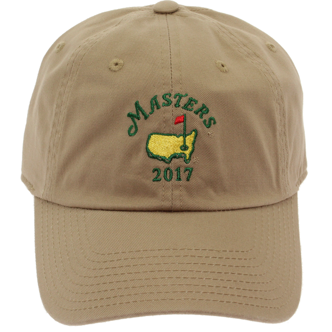 2017 Masters Khaki Caddy Hat