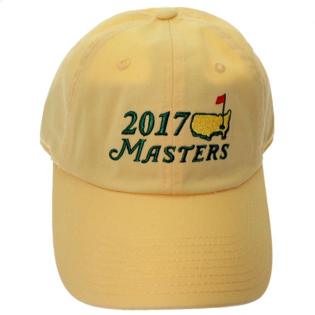 2017 Masters Yellow Caddy Hat