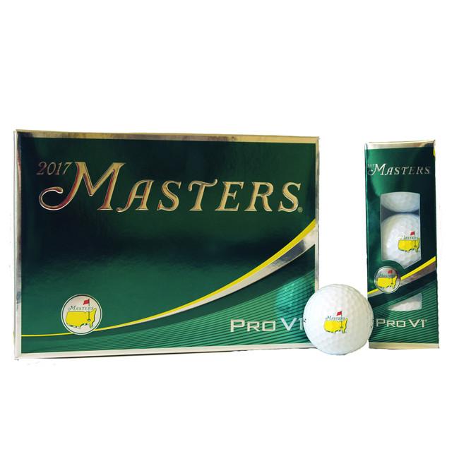 2017 Masters Golf Balls - Dozen - Pro V1