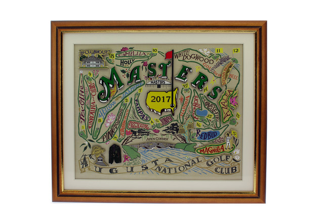 2017 Masters Commemorative Pin Set