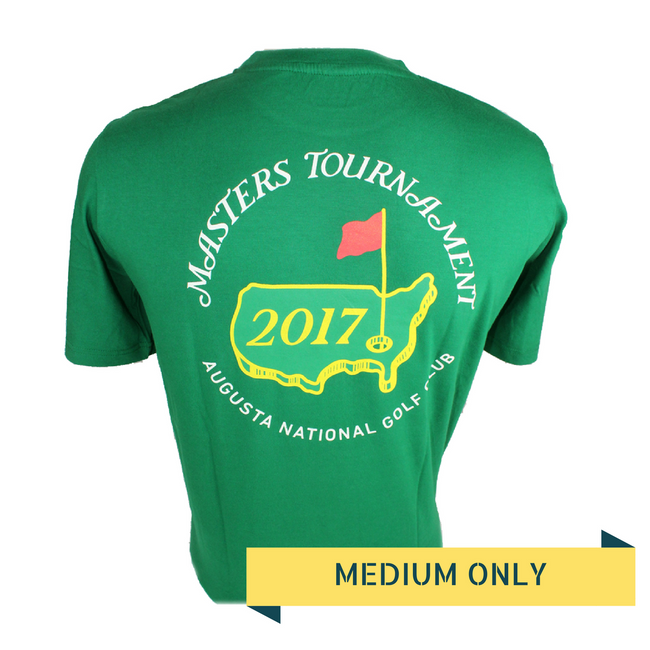 2017 Masters Green Small Logo T-shirt