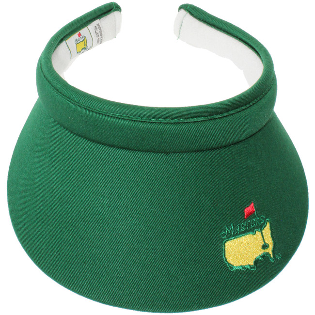 Masters Ladies Clip Visor - Green & White