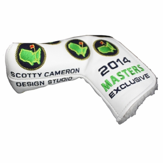 2014 Masters Scotty Cameron Putter Cover White Leather