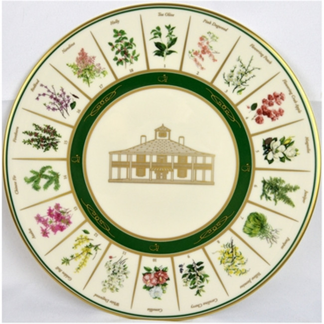 Masters Pickard China 10 1/4 Diameter Undated Plate-2015 Issue From Augusta National
