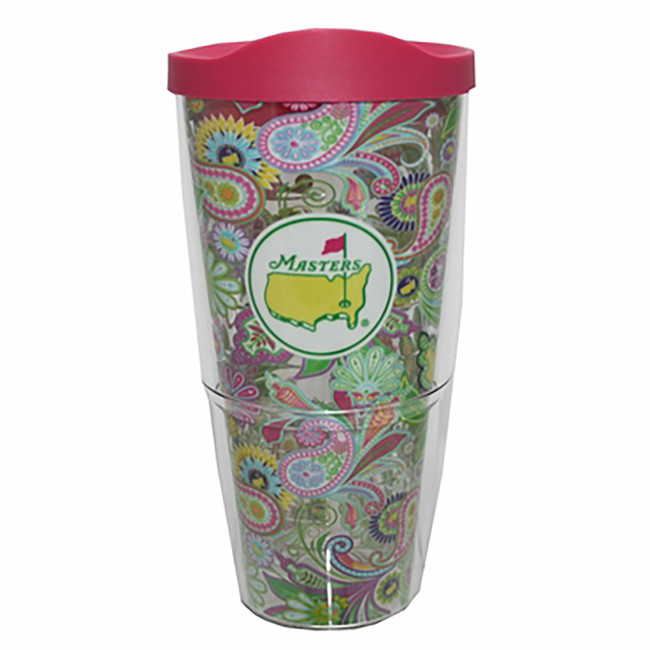 Masters 24oz Tumbler With Lid - Paisley