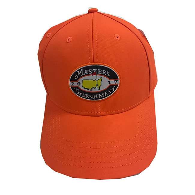 Masters 2017 Tech Hat - Orange Reflective