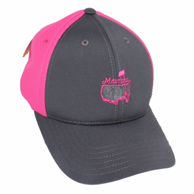 Masters Tech Youth Hat Grey Pink