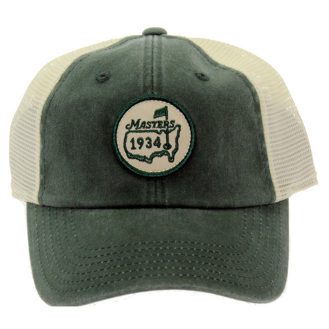 Masters 1934 Retro Green Trucker Hat