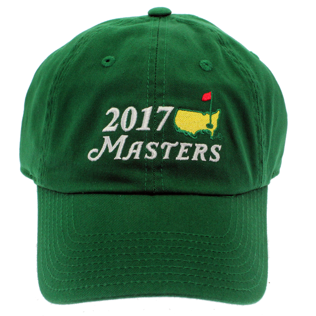 2017 Masters Big Logo Green Caddy Hat