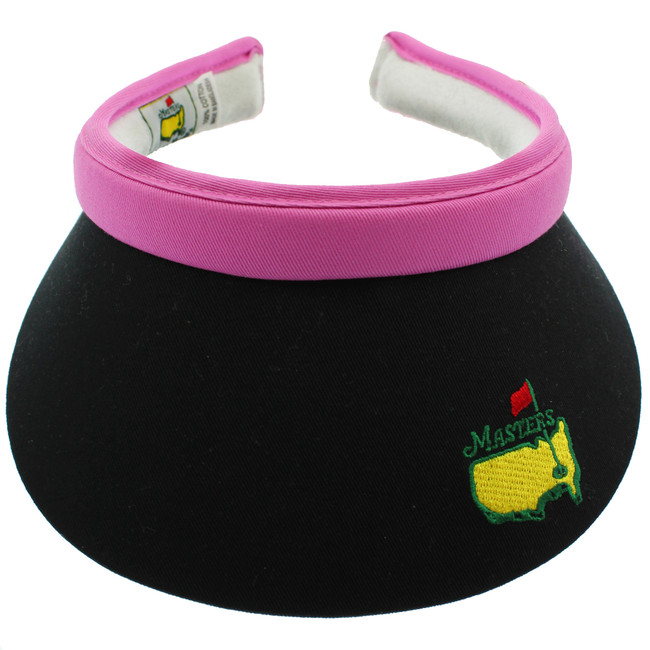 Masters Ladies Black & Pink Clip Visor