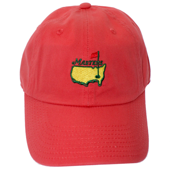 Masters Coral Caddy Hat