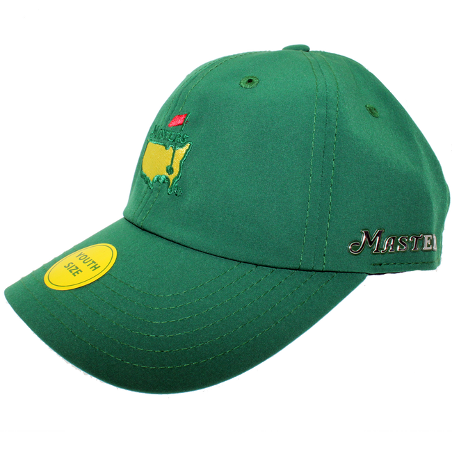 Masters Youth Performance Hat - Green Reflective